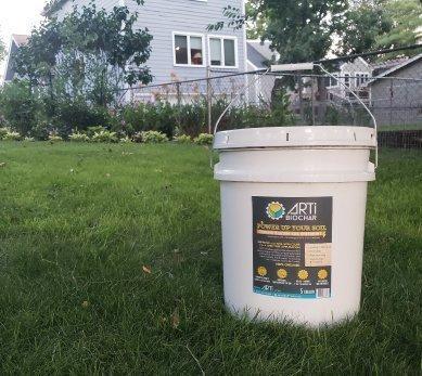 liquid biochar premium black